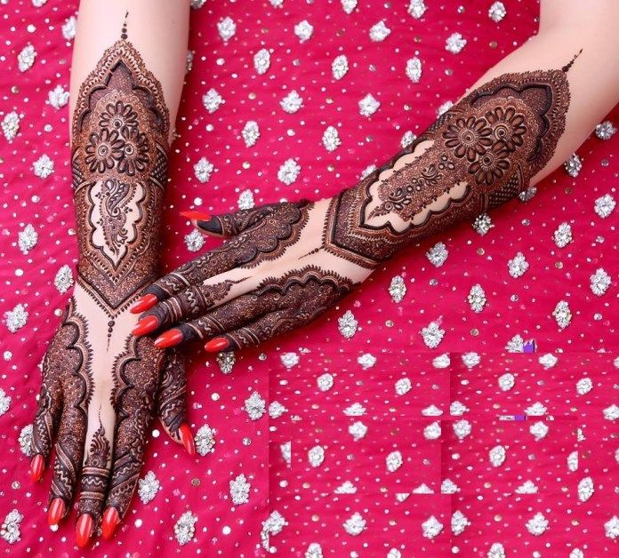 Marwari Mehndi Design Images (70)