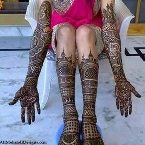 Marwari Mehndi Design Images (81)