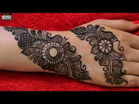Marwari Mehndi Design Images (83)