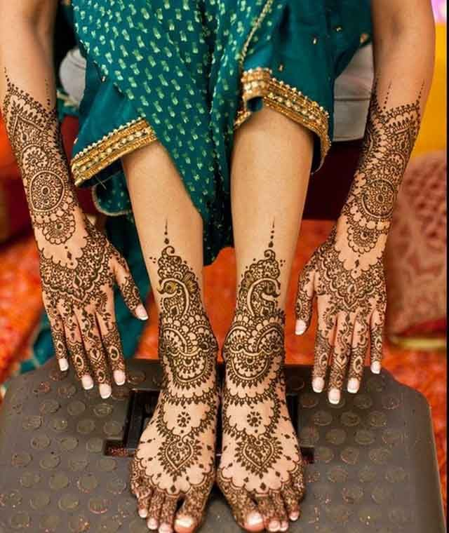 Marwari Mehndi Design Images (84)