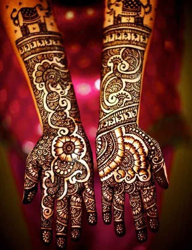 Marwari Mehndi Design Images (9)