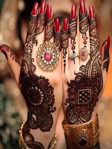 Marwari Mehndi Design Images (97)
