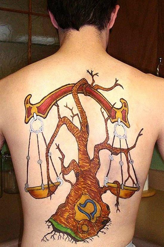 Most Beautiful Libra Tattoos (1)