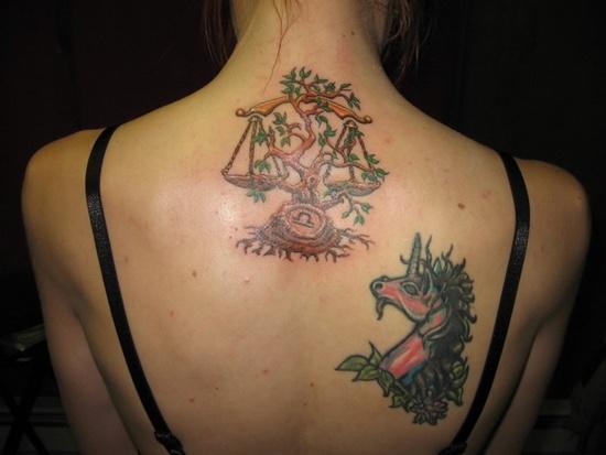 Most Beautiful Libra Tattoos (2)