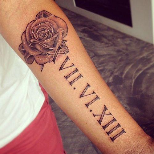 Roman Numeral Tattoo Design Pictures (115)