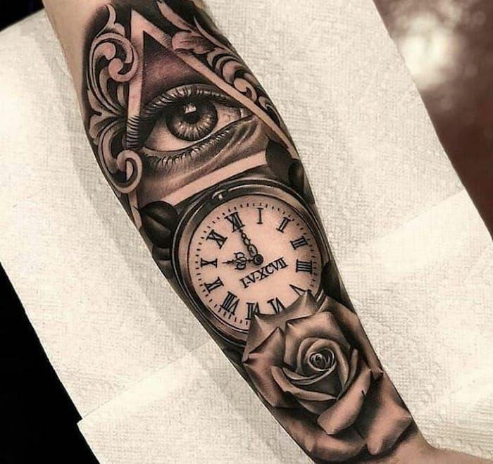 Roman Numeral Tattoo Design Pictures (122)
