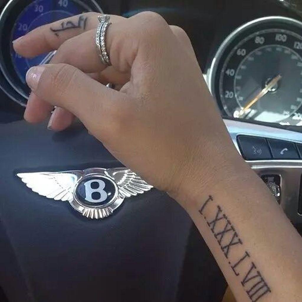 Roman Numeral Tattoo Design Pictures (13)