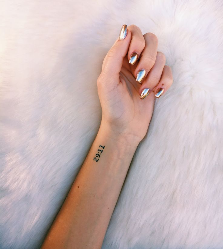 Roman Numeral Tattoo Design Pictures (130)