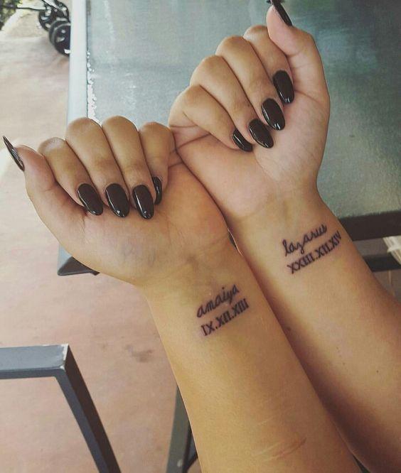Roman Numeral Tattoo Design Pictures (132)