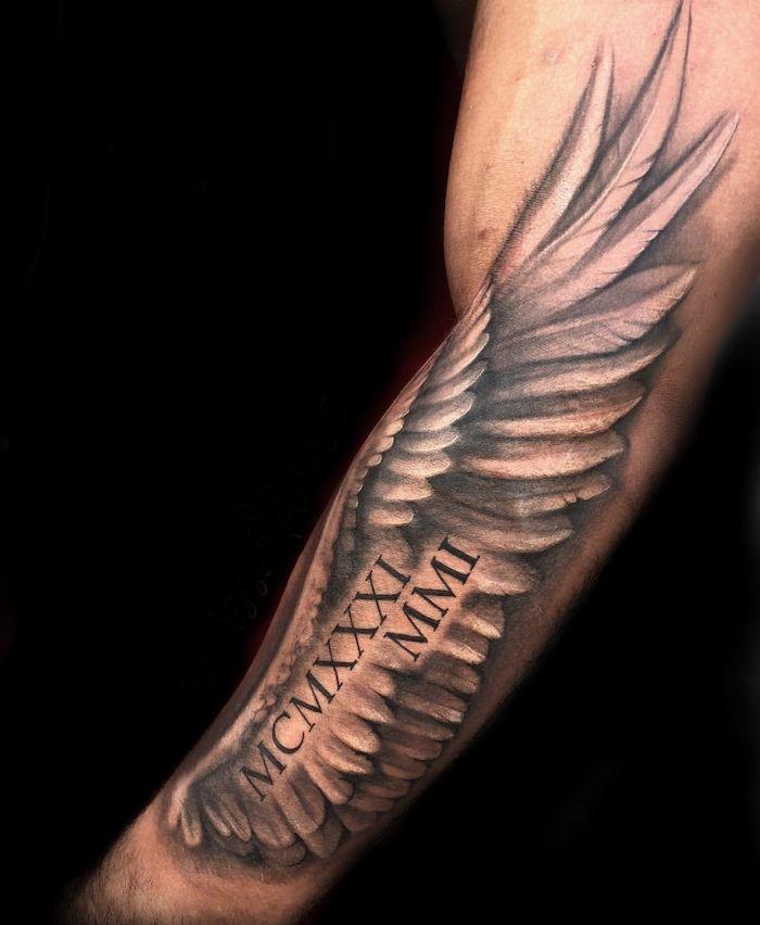 Roman Numeral Tattoo Design Pictures (134)