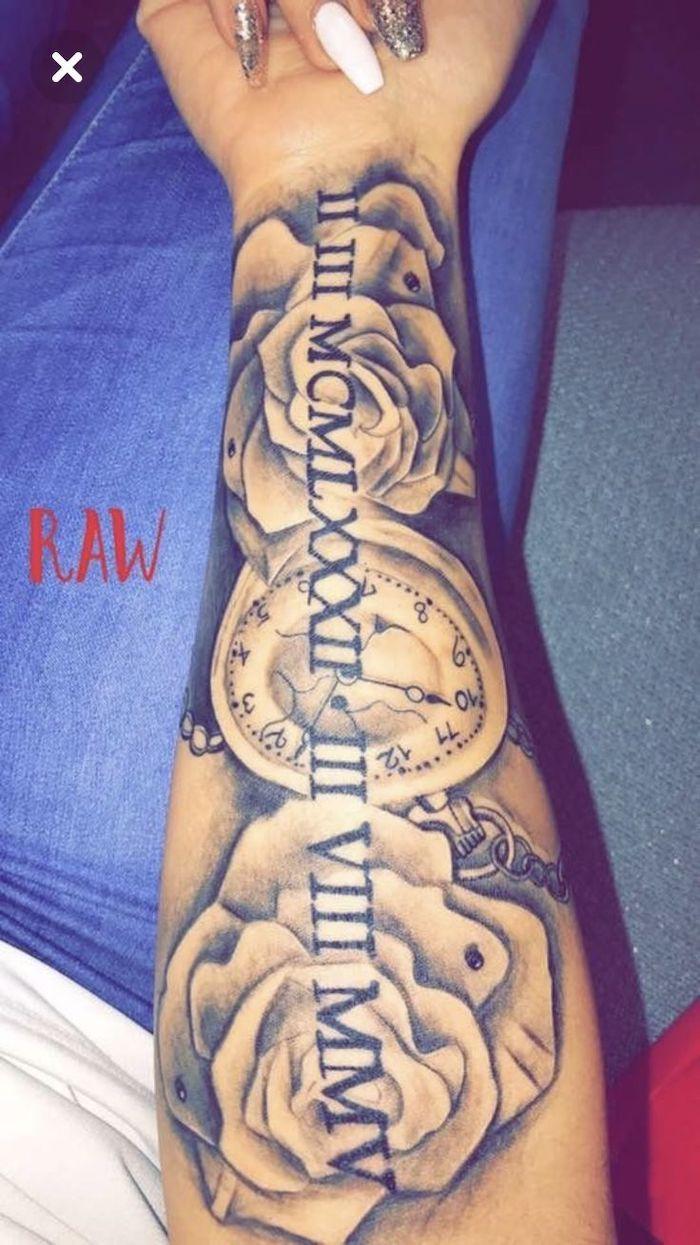 Roman Numeral Tattoo Design Pictures (137)
