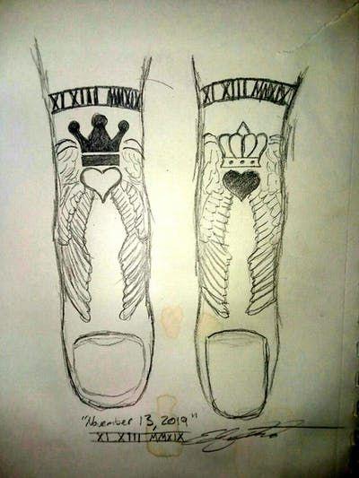 Roman Numeral Tattoo Design Pictures (15)