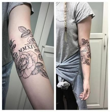Roman Numeral Tattoo Design Pictures (171)