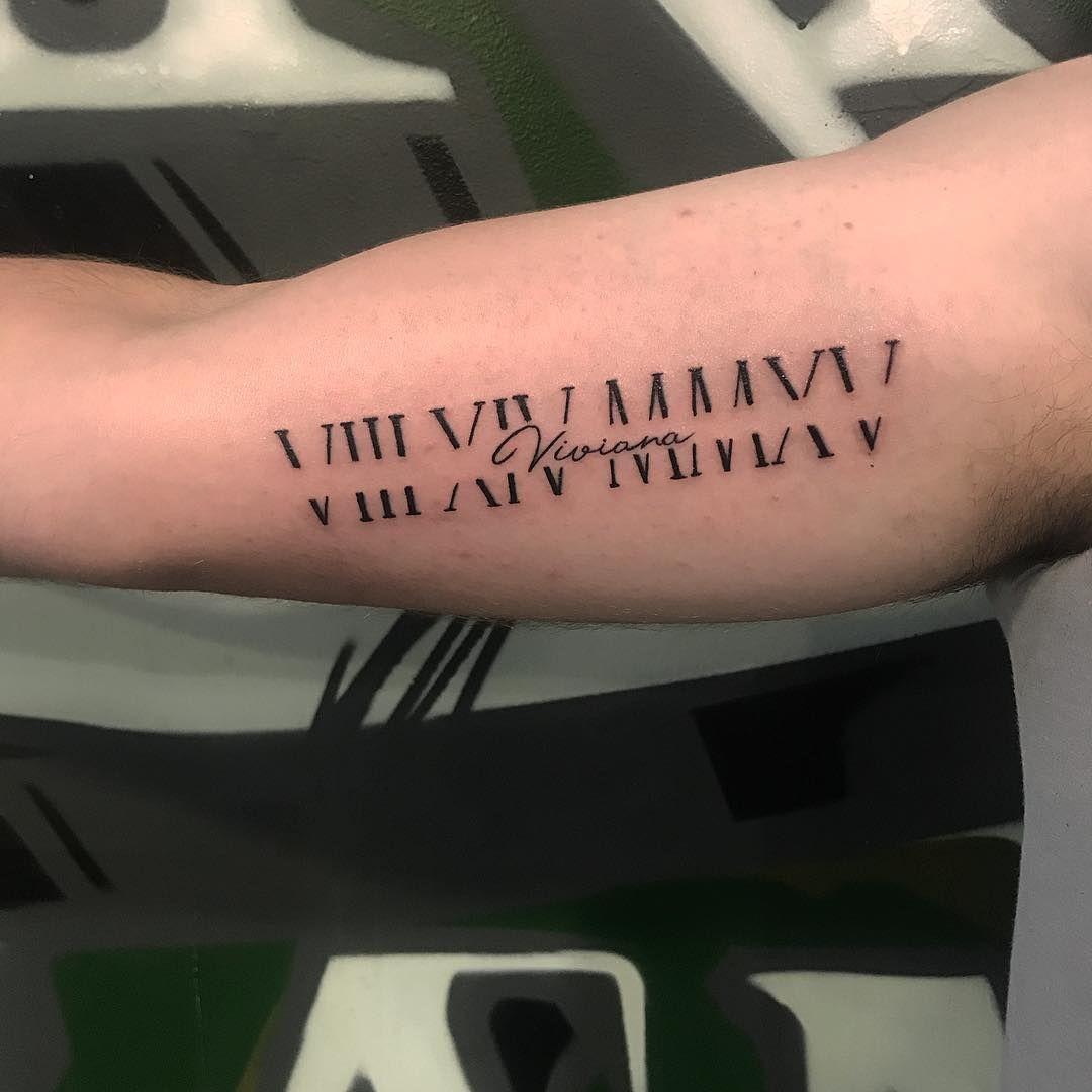 Roman Numeral Tattoo Design Pictures (174)