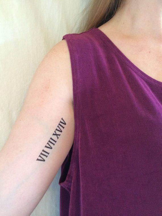 Roman Numeral Tattoo Design Pictures (176)