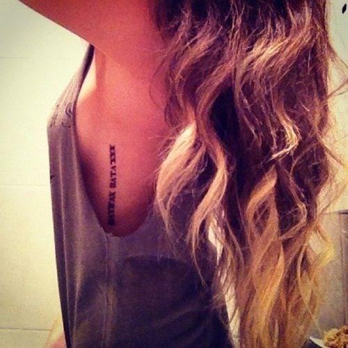 Roman Numeral Tattoo Design Pictures (18)