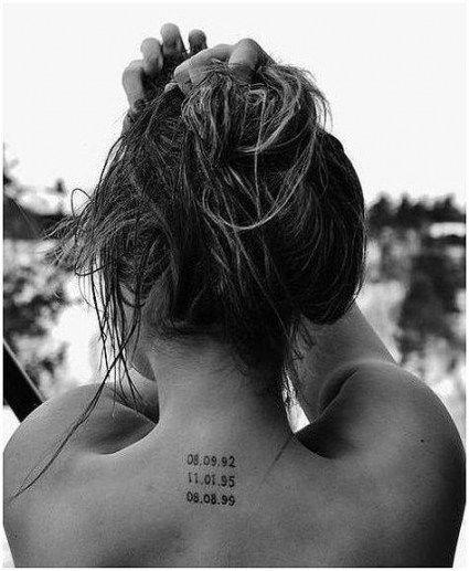 Roman Numeral Tattoo Design Pictures (190)