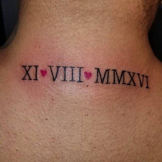 Roman Numeral Tattoo Design Pictures (22)