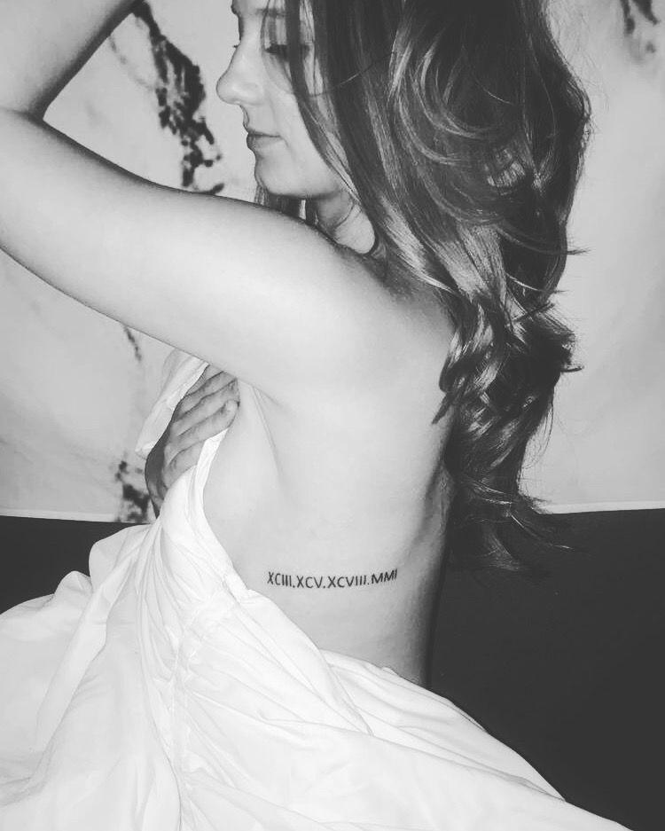 Roman Numeral Tattoo Design Pictures (28)