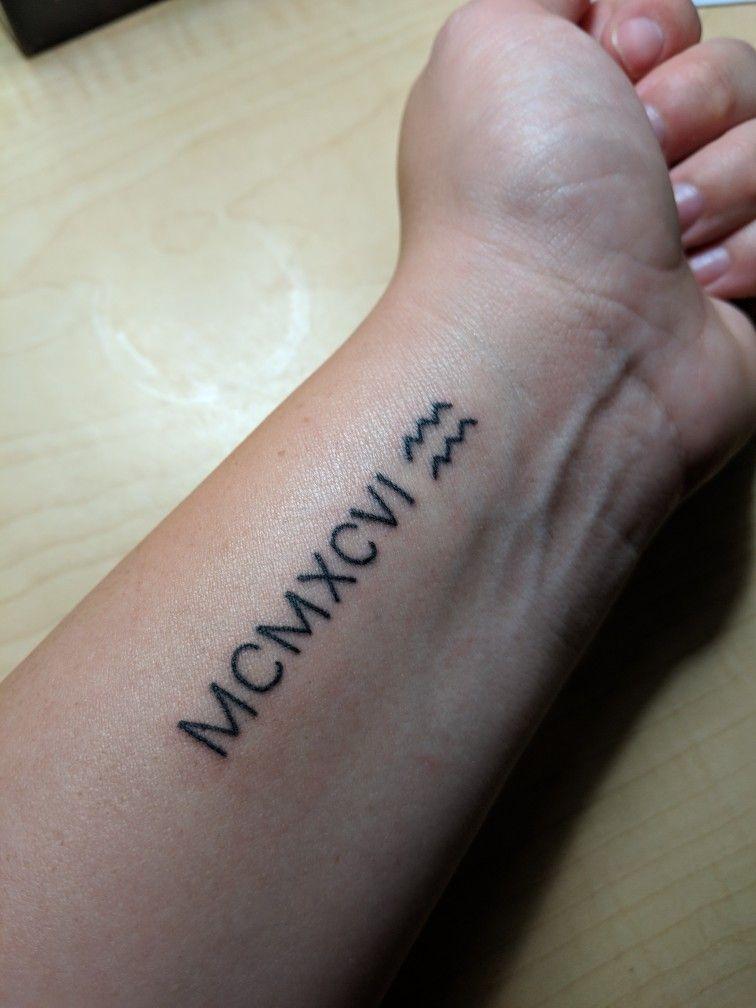 Roman Numeral Tattoo Design Pictures (4)