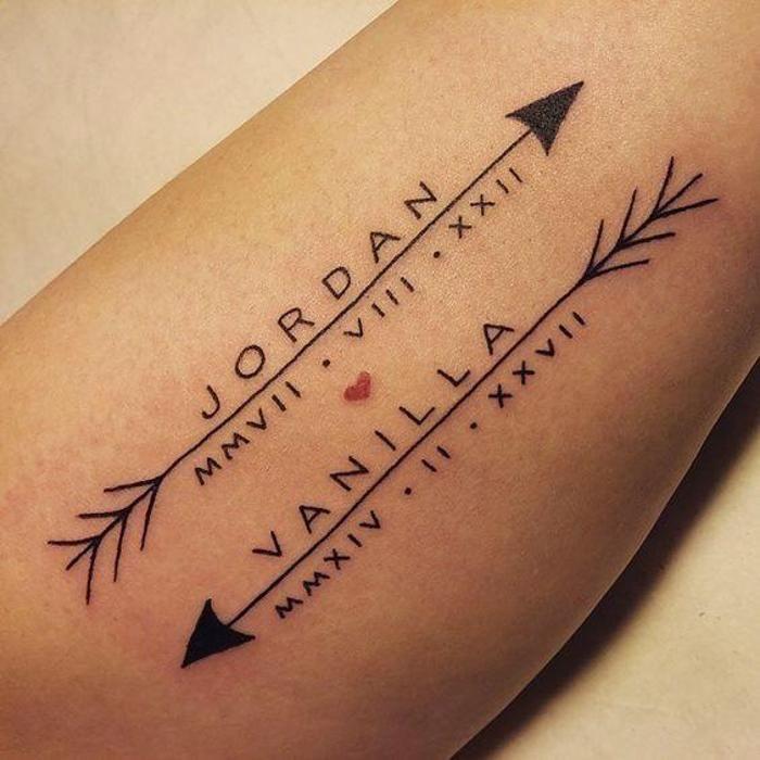 Roman Numeral Tattoo Design Pictures (44)