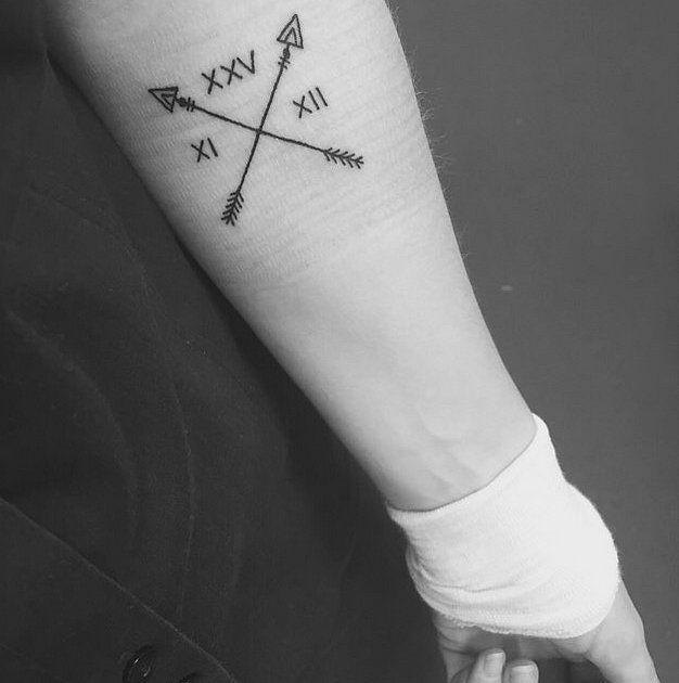 Roman Numeral Tattoo Design Pictures (5)