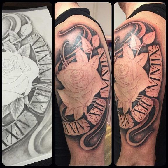 Roman Numeral Tattoo Design Pictures (53)