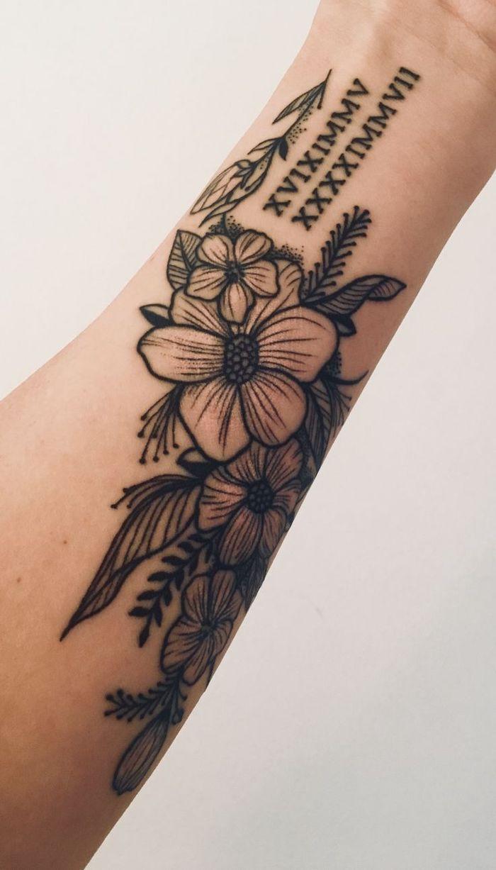 Roman Numeral Tattoo Design Pictures (61)