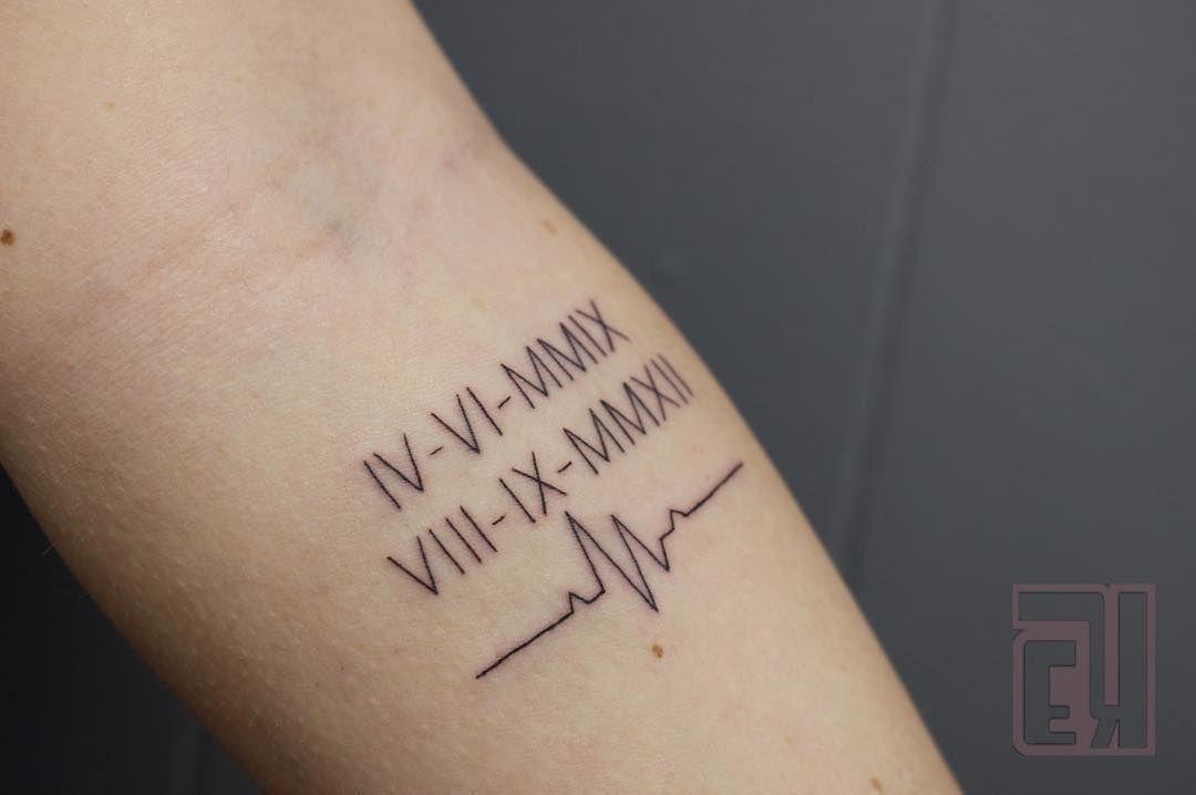 Roman Numeral Tattoo Design Pictures (79)
