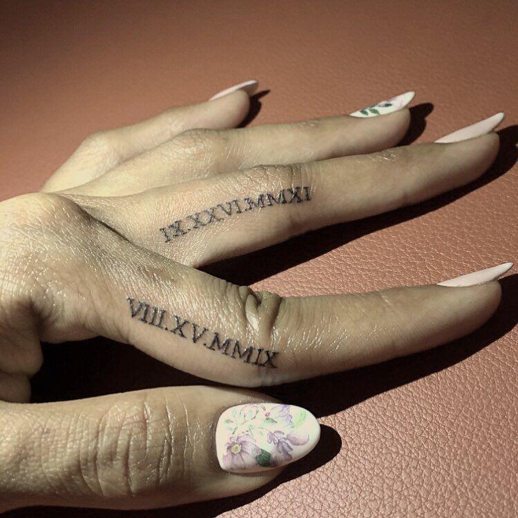 Roman Numeral Tattoo Design Pictures (84)