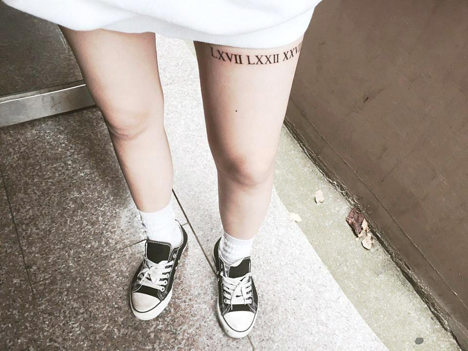Roman Numeral Tattoo Design Pictures (85)