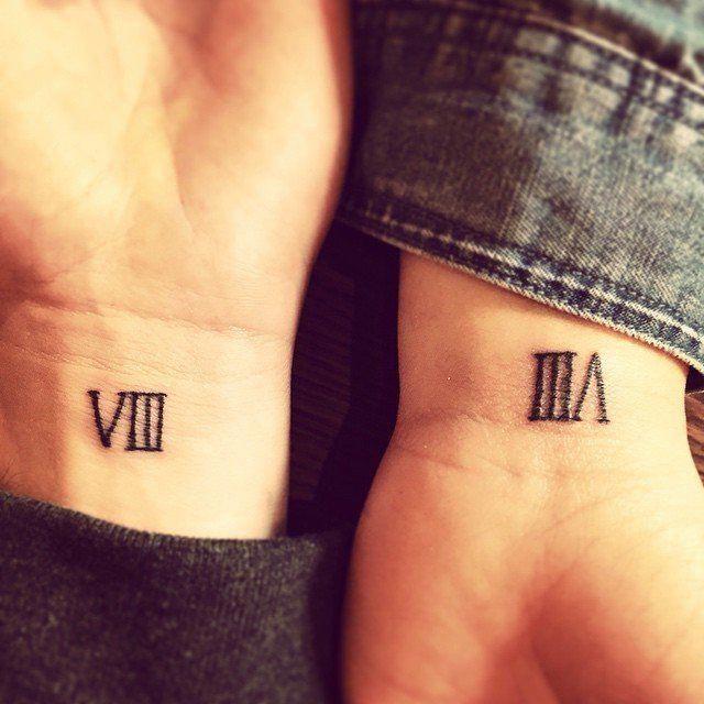 Roman Numeral Tattoo Design Pictures (95)