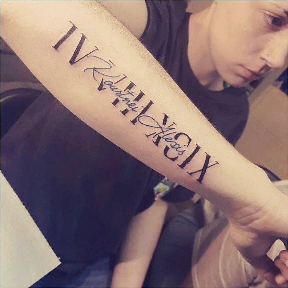 Roman Numeral Tattoo Design Pictures (96)