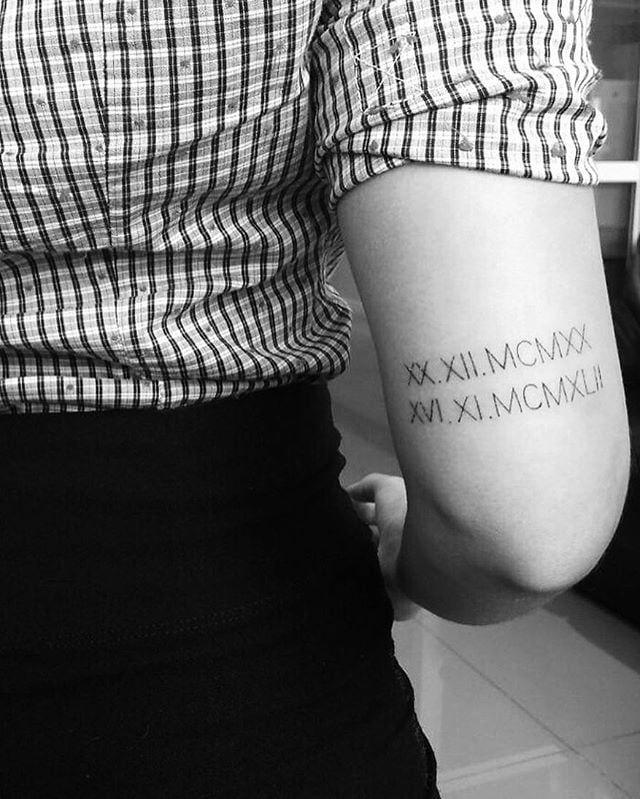 Roman Numeral Tattoo Design Pictures (97)
