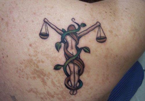 Small Libra Tattoos (4)