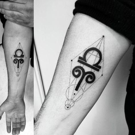 Small Libra Tattoos (6)