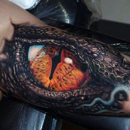 Tattoo Of An Eyeball (4)