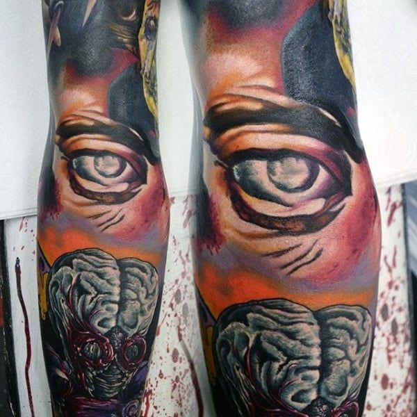 Tattoo Of An Eyeball (5)