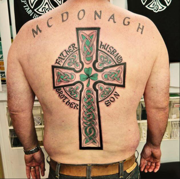 Celtic Cross Meaning Tattoos