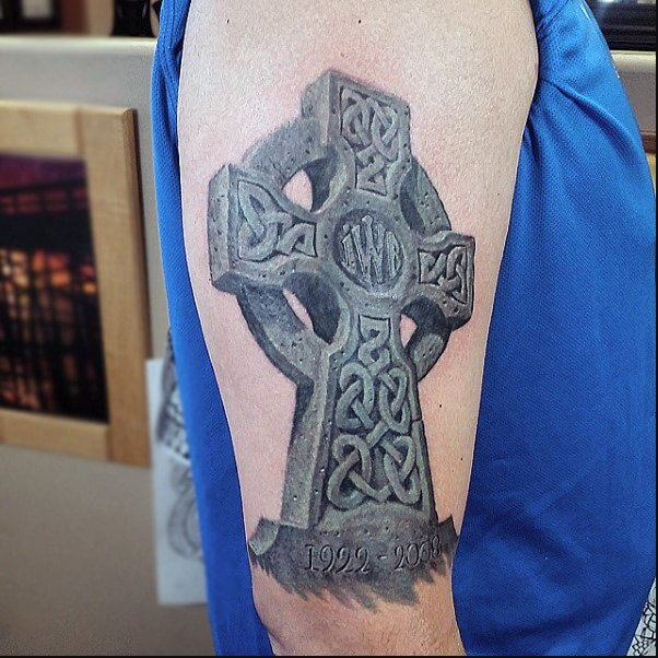 100 Celtic Cross Tattoo Designs Pictures With Meanings 2020
