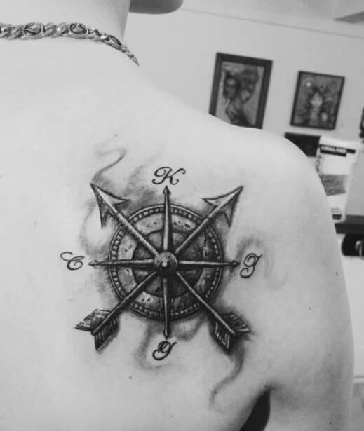 Compass Tattoos For Girls