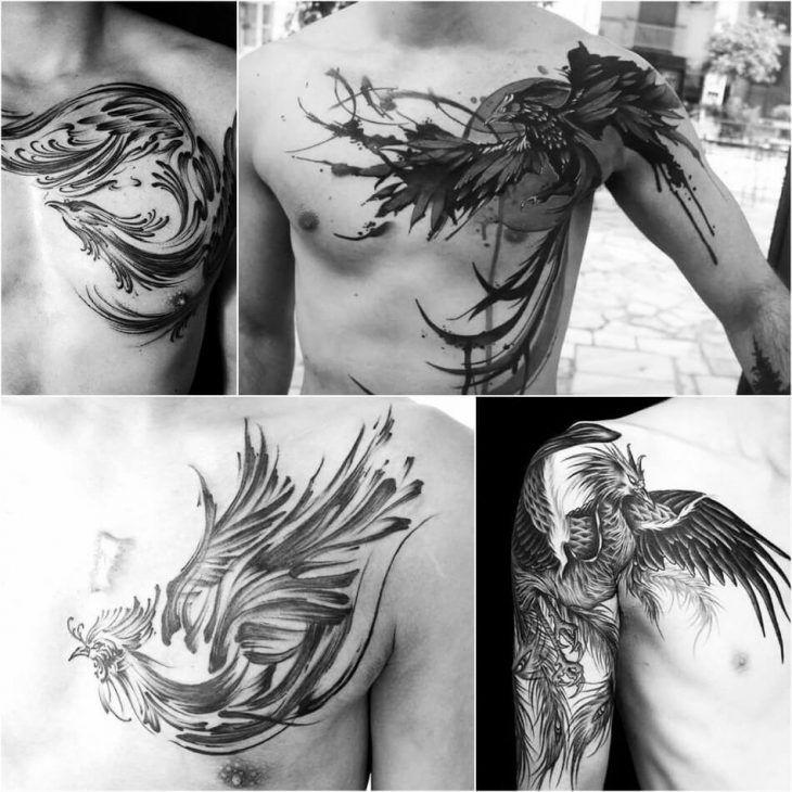 Fenix Tatuaje Masculina Feminina (125)