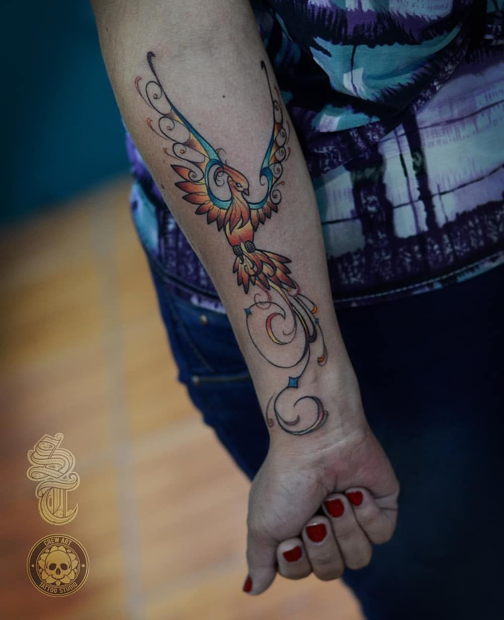 Fenix Tatuaje Masculina Feminina (143)