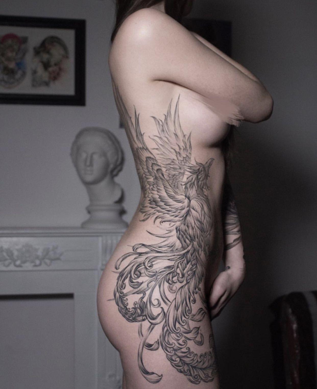 Fenix Tatuaje Masculina Feminina (159)