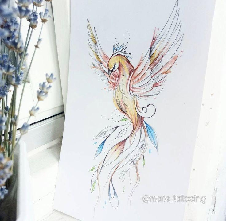 Fenix Tatuaje Masculina Feminina (164)