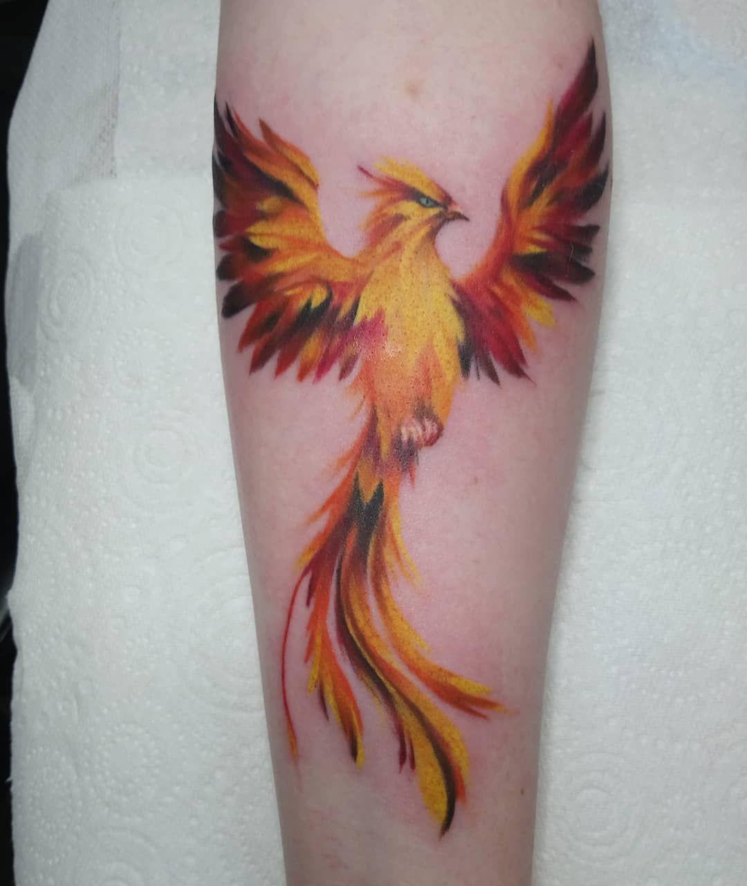 Fenix Tatuaje Masculina Feminina (170)