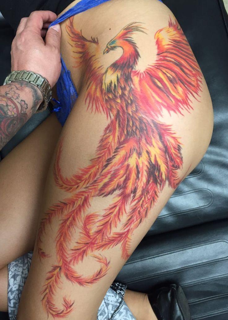 Fenix Tatuaje Masculina Feminina (203)