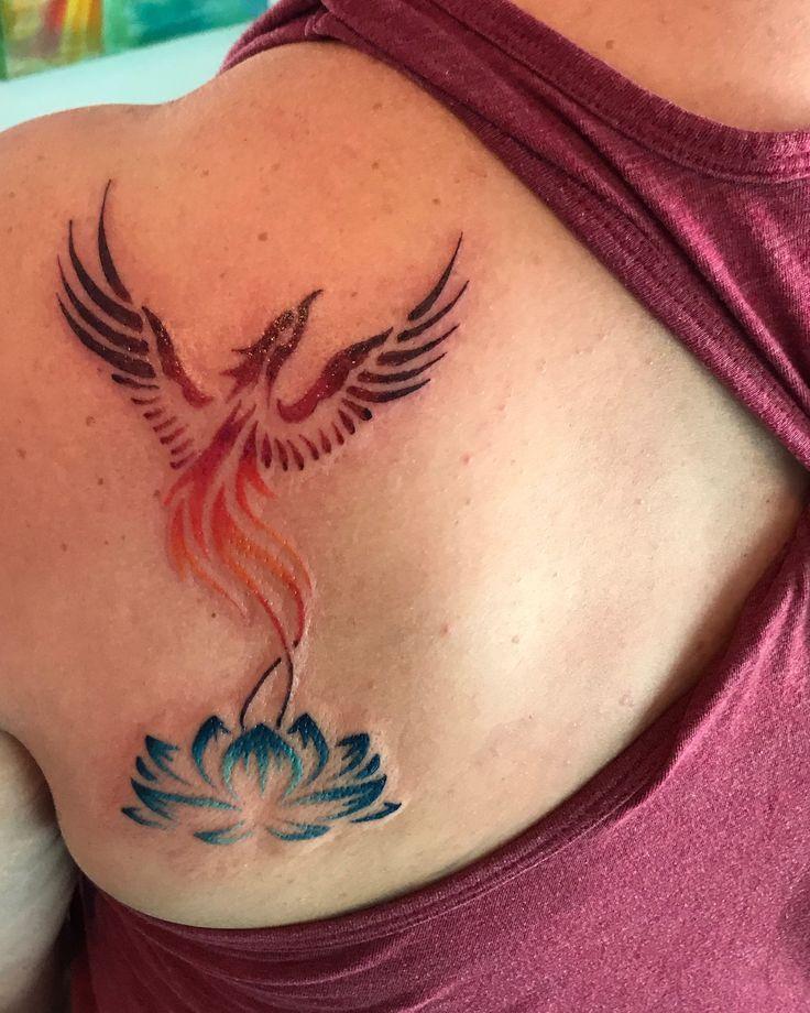 Fenix Tatuaje Masculina Feminina (79)