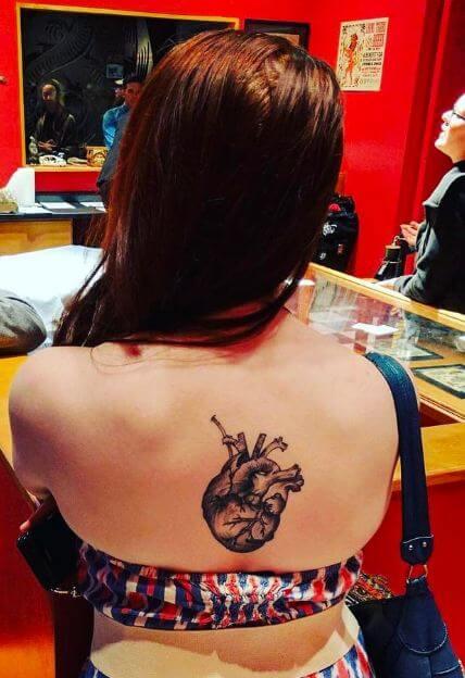 Heart Tattoos For Girls