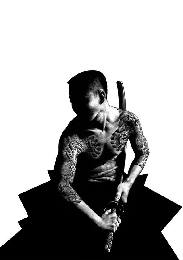 Japanese Gang Yakuza Full Body Tattoo Meanings (10)